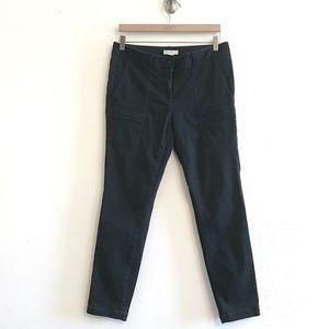 Loft Brushed Sateen Skinny Ankle Pants